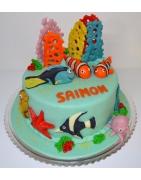 Bezlepkové torty, detské torty, svadobné torty, narodeninové torty