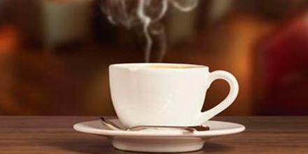 ponuka kávy, nealka a čaju